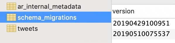 schema_migrationsテーブル