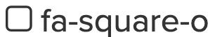 square-o