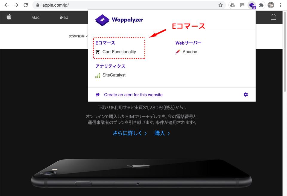 eコマースプラットフォームの画像