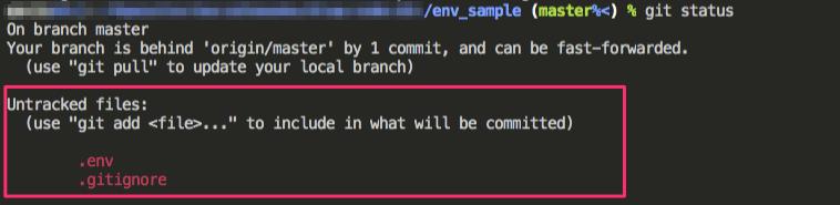 コミット削除後のファイル状態